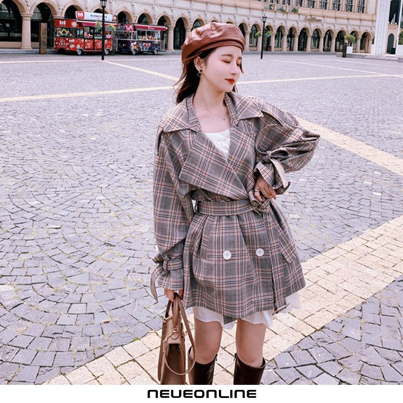 fashion travel short style kinder trenchcoat khaki